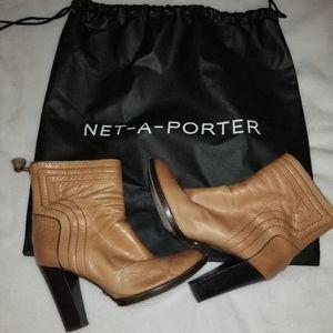 Chloe Lambskin Soft Ankle Boots